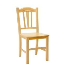 Celomasivní židle Silvana