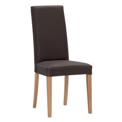 Jídelní židle v provedení kůže