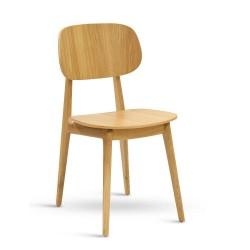 Židle Bunny dubová
