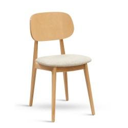 Židle Bunny s čalouněným...
