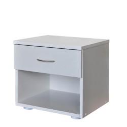 Noční stolek Idea 140 bílý