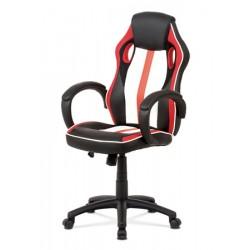 Otočná židle KA-V505 červená