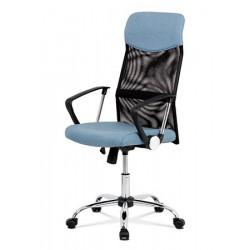 Otočná židle Ka-E301 modrá