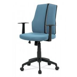 Otočná židle KA-E826 modrá
