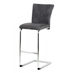 Barová židle BAC-192 šedá