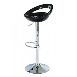 Barová židle AUB-404 černá