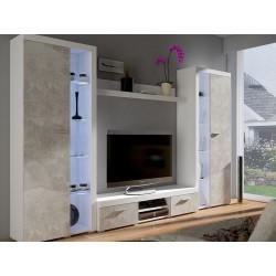 Bytová stěna Robben XL beton