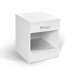 Noční stolek Alfa bílý