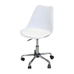 Otočná židle Prado bílá