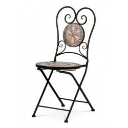 Židle kovová JF 2226 černá