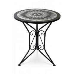 Stůl kovový US-1006 černý
