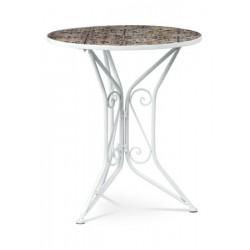 Stůl kovový US-1000 bílý
