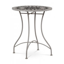 Stůl kovový JF-2228 šedý